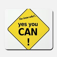 yes you can Mousepad