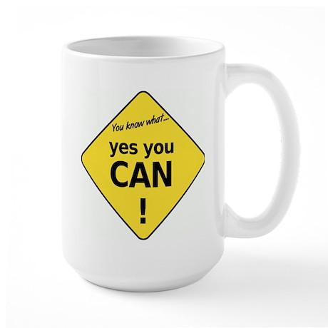 yes you can Large Mug