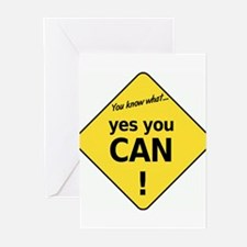 yes you can Greeting Cards (Pk of 10)