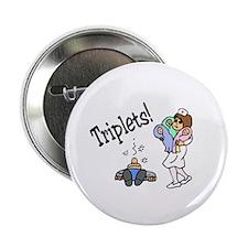 "Triplets! 2.25"" Button"
