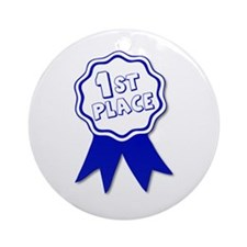 1st place Ornament (Round)