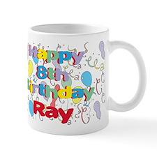Ray's 8th Birthday Mug