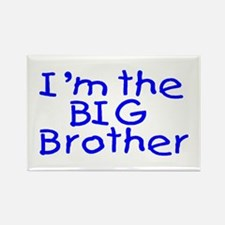 I'm The Big Brother (Blue) Rectangle Magnet