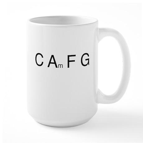 Chord Sequence Large Mug