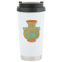 Etruscan Vase Travel Mug