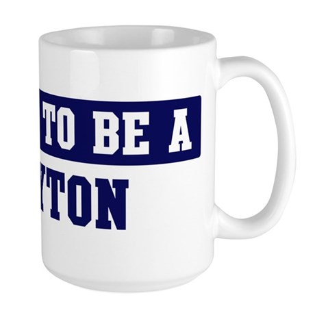 Proud to be Layton Large Mug