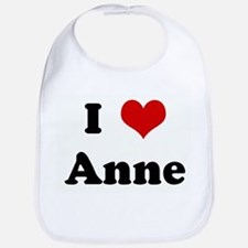I Love Anne Bib