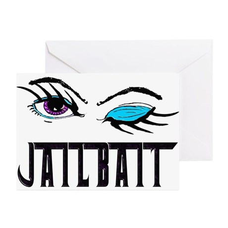 Jail Bait Greeting Cards (Pk of 20)