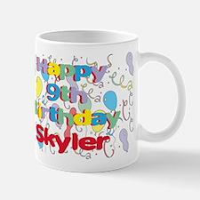 Skyler's 9th Birthday Mug
