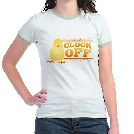 Cluck Off Jr. Ringer T-Shirt