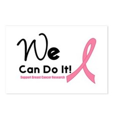 We Can Do It Breast Cancer Postcards (Package of 8