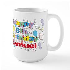 Samuel's 8th Birthday Mug