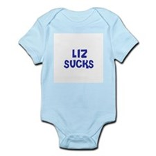 Liz Sucks Infant Creeper
