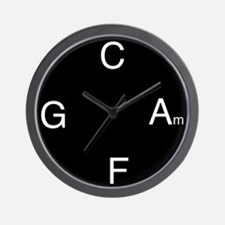 Chord Sequence Wall Clock