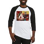 Santa's Ital Greyhound Baseball Jersey