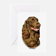 Field Spaniel 9P018D-162 Greeting Card