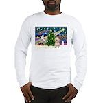 XmasMagic/Havanese pup Long Sleeve T-Shirt