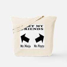 MEET MY FRIENDS Tote Bag