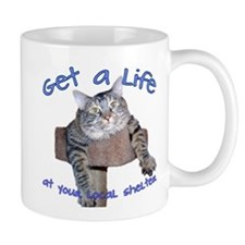 Get a life at your local shel Mug