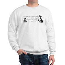 Thinker + Rodin Quote Sweatshirt