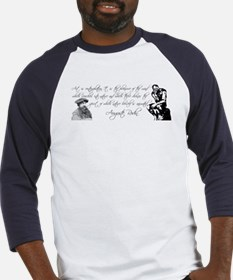 Thinker + Rodin Quote Baseball Jersey