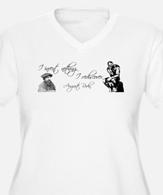 Rodin Thinker and Quote T-Shirt