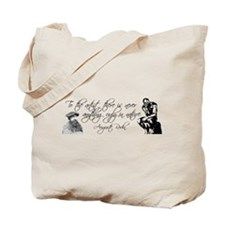 Auguste Rodin Art Quote Tote Bag