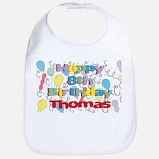 Thomas's 8th Birthday Bib