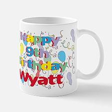 Wyatt's 9th Birthday Mug