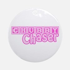 Chubby Chaser Ornament (Round)