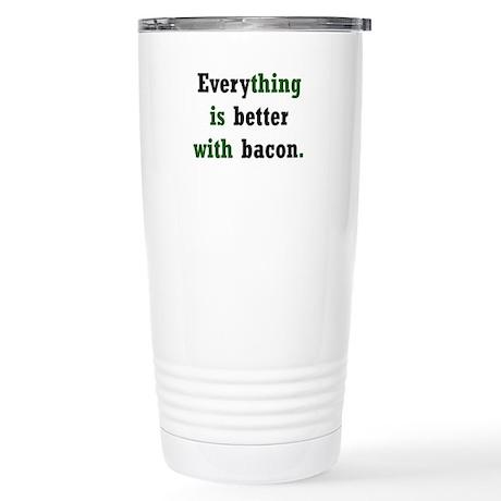 Bacon Lover Stainless Steel Travel Mug