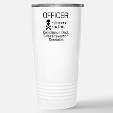 Compliance Officer Stainless Steel Travel Mug