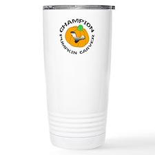Pumpkin Carver Travel Coffee Mug