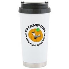 Pumpkin Carver Travel Mug
