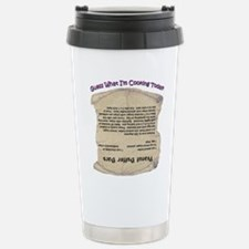 Peanut Butter Bars Stainless Steel Travel Mug