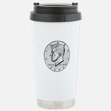 Kennedy Half-Dollar Travel Mug