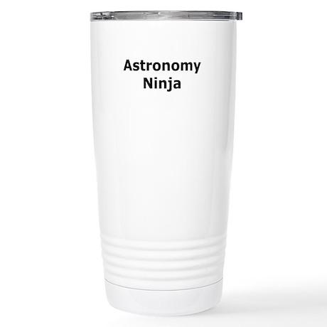 Astronomy Ninja Stainless Steel Travel Mug