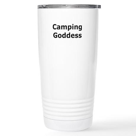 Camping Goddess Stainless Steel Travel Mug