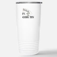 Euchre Time Stainless Steel Travel Mug