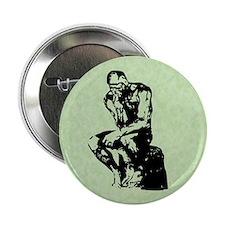 "Rodin The Thinker 2.25"" Button"