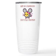 Soychick Mouse Against Animal Travel Mug