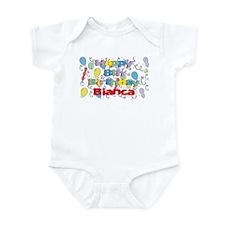 Bianca's 8th Birthday Infant Bodysuit