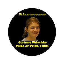 """Corinne Wilschke 3.5"""" Button"""