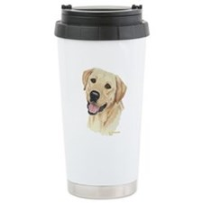 Cute Labrador retriever famous painting Travel Mug