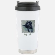 Black Lab, my bff Stainless Steel Travel Mug