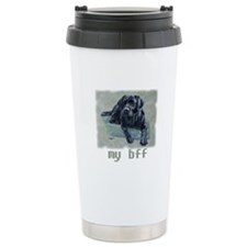 Black Lab, my bff Travel Coffee Mug