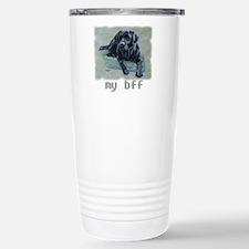Black Lab, my bff Travel Mug