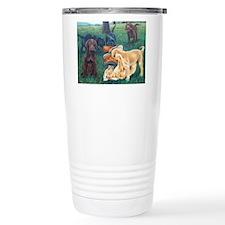 Labrador retriever famous painting Travel Mug