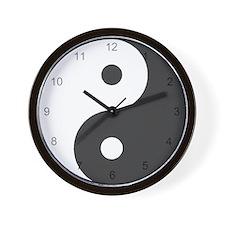 Yin Yang Symbol 1 Wall Clock