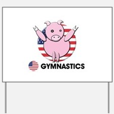 gymnastics Yard Sign